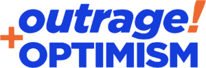 Outrage and Optimism Logo